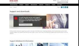 eService Technical Support   Ricoh