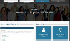 ESS: Employer Self Service Logon - Workforce Development