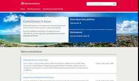 Essex County Council - Citizen Space