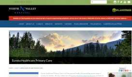 Eureka Healthcare Primary Care | Clinics | North Valley Hospital