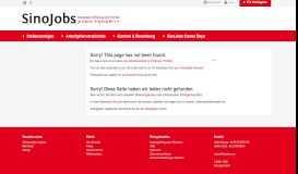 European-Chinese Job Portal: HUGO BOSS AG - SinoJobs