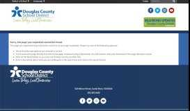 Express Check-In for Parents - Douglas County School District