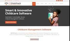 EZChildTrack: Childcare Management Software   Childcare ...