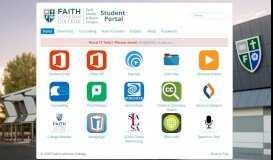 Faith - Student Portal