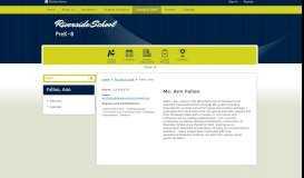 Fallon, Ann / Welcome - Cleveland Metropolitan School District
