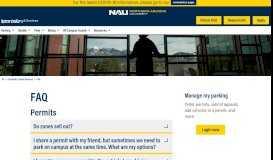 FAQ | University Transit Services - Northern Arizona University