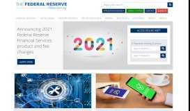 Federal Reserve Bank Services: The Federal Reserve