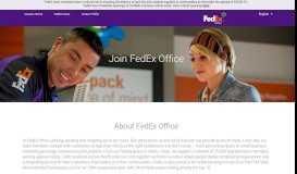 FedEx Office - FedEx Careers
