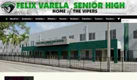 Felix Varela Senior High School