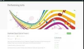 Festival Choir End of Term 1 – Performing Arts - Reynella Blogs