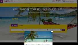 Find cheap holidays with Purpletravel.co.uk