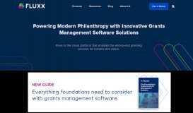 Fluxx - Grants Management Software