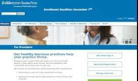 For Providers - Elderplan