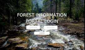 Forest Information Portal - App Lab - Orbis, Inc