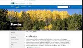 Forestry | USDA