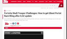 Fortnite Ghost Portal: Skull Trooper Challenges and How to get Ghost ...