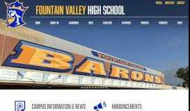 Fountain Valley High School