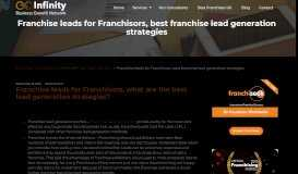Franchise leads for Franchisors, best franchise lead generation ...