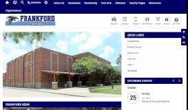 Frankford Middle / Homepage - Plano ISD