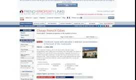 French gites - Cheapest properties on the market in France