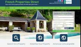 French Properties Direct: Buy or sell a French property privately