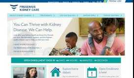 Fresenius Kidney Care: Chronic Kidney Disease and Dialysis Treatment