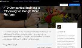FTD Case Study | Google Cloud