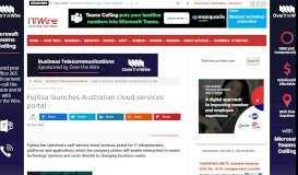 Fujitsu launches Australian cloud services portal - iTWire