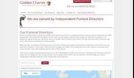 Funeral Directors - Golden Charter for Intermediaries
