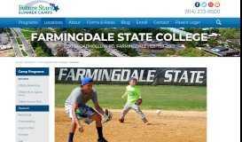 Future Stars Baseball Camp at Farmingdale State College