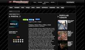 Games: Portal 2 | MegaGames