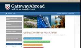 GatewayAbroad - University of Richmond