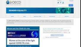 Gender - OECD - OECD.org
