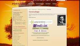 Genealogy / Portales, NM