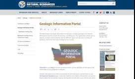 Geologic Information Portal | WA - DNR