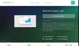 Get Fstime.urs.com news - Deltek Time & Expense - Login
