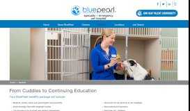 Get Great Benefits   Work for BluePearl Veterinary Partners   Search ...