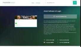 Get Ws1.aholdusa.com news - Ahold Delhaize US Login