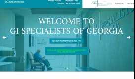 GI Specialists of Georgia: Colonoscopies Atlanta, GA | Home