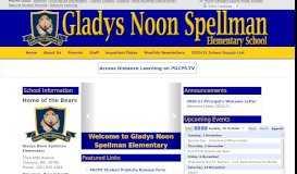 Gladys Noon Spellman ES - PGCPS