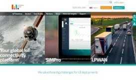 Global IoT Connectivity Multi-SIM Management Platform Solutions