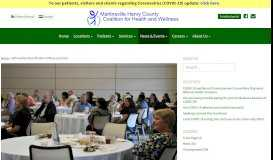 GO Healthy West Piedmont Wrap-up Event   Martinsville Henry County ...