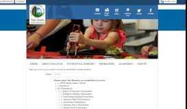 Going Green Email Menus - San Juan Unified School District - School ...