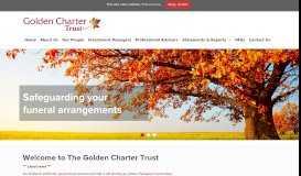 Golden Charter Trust: Home