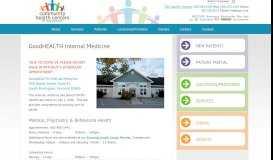 GoodHEALTH Internal Medicine - Community Health Centers of ...