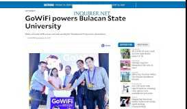 GoWiFi powers Bulacan State University | Inquirer Technology