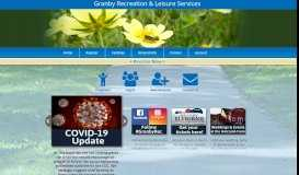 Granby Recreation & Leisure Services: Online Registration by ...