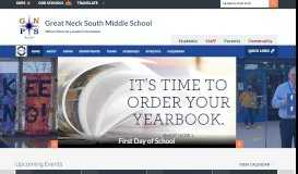 Great Neck South Middle School / Homepage