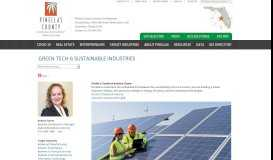 Green Tech & Sustainable Industries - Pinellas County Economic ...
