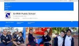 Griffith Public School: Home